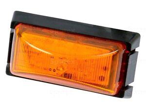 AMBER LED TRAILER MARKER LIGHT 12v / 24v NEW. FOR trailer TRACTOR VAN HGV