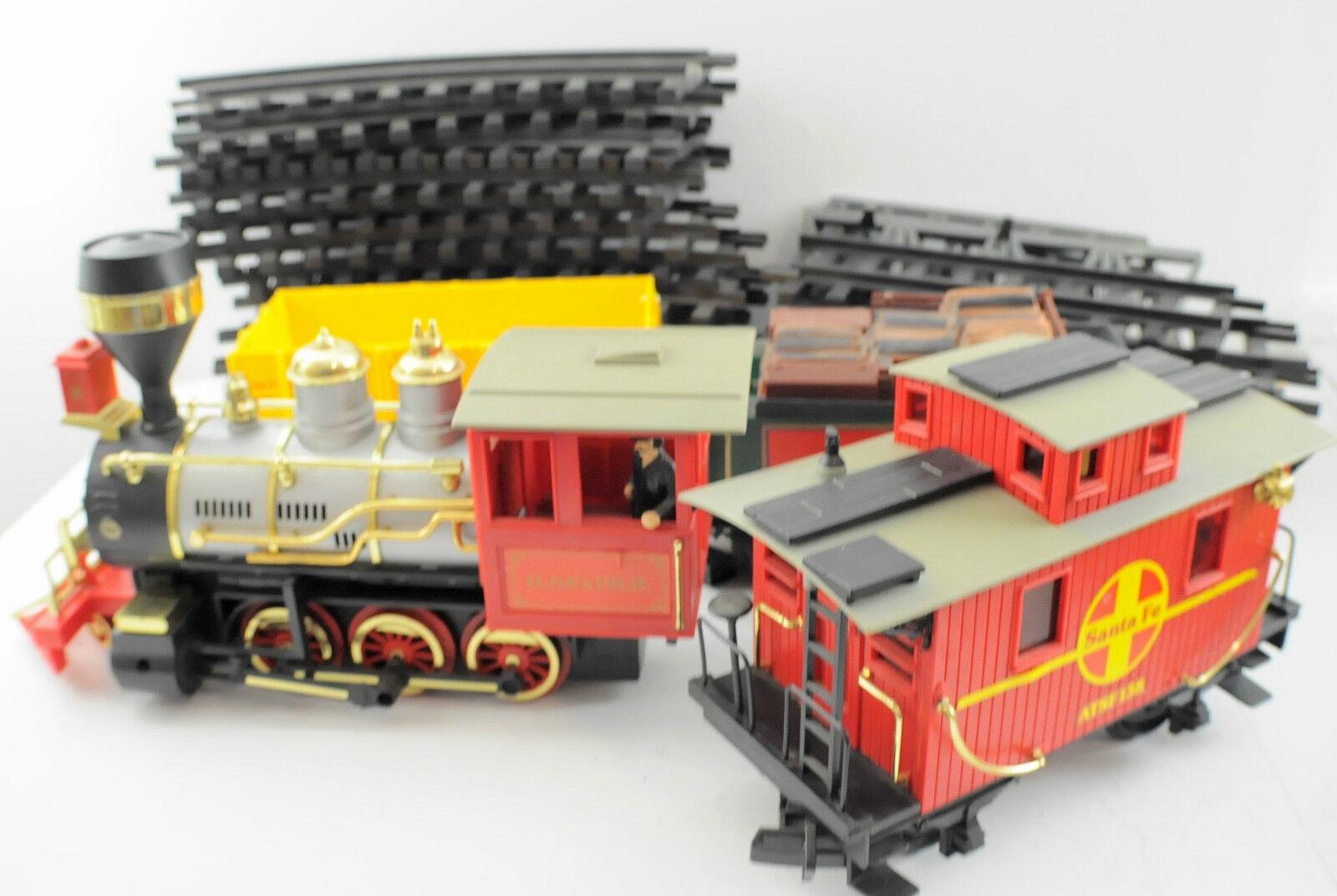 Bright New Vintage Classic Scale Set Train G Rail