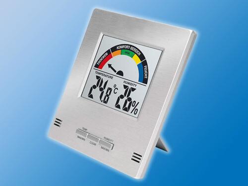 LCD Klima Komfort AnzeigeHygrometerRaumklimaLuftfeuchteThermometer