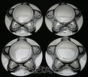 Lincoln Navigator Chrome Wheel Center Hub Caps Rim Cover 5