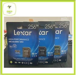 Lexar Microsd 256gb 633X Memory Card