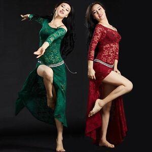 5116-Bauchtanz-Kostuem-Side-Split-Lace-Kleid-6-Farben