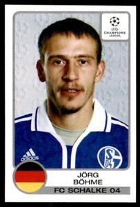 Panini Liga de Campeones 2001-2002 Jorg Bohme Schalke no. 83  </span>