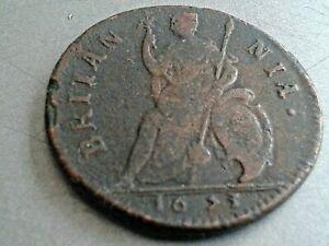 DECENT CHARLES II FARTHING 1673