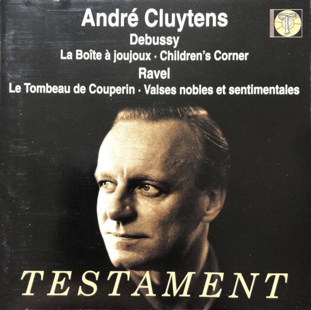 Debussy: Boite A Joujoux/Childrens Corner u. a. André Cluytens TESTAMENT (2002)