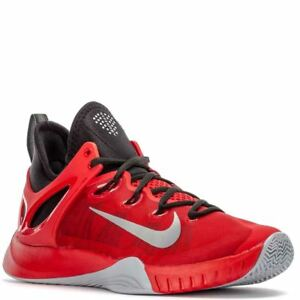 best website a6804 44096 Image is loading Nike-Zoom-HyperRev-2015-Red-Black-Wolf-Grey-