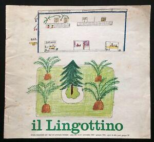 IL-LINGOTTINO-rivista-trimestrale-ITALSIDER-a-3-n-4-nov-1963-gennaio-1964