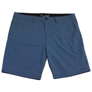 Oakley-Eris-Short-Mens-Size-32-M-Blue-Shade-Casual-Shorts-Dress-Walkshorts