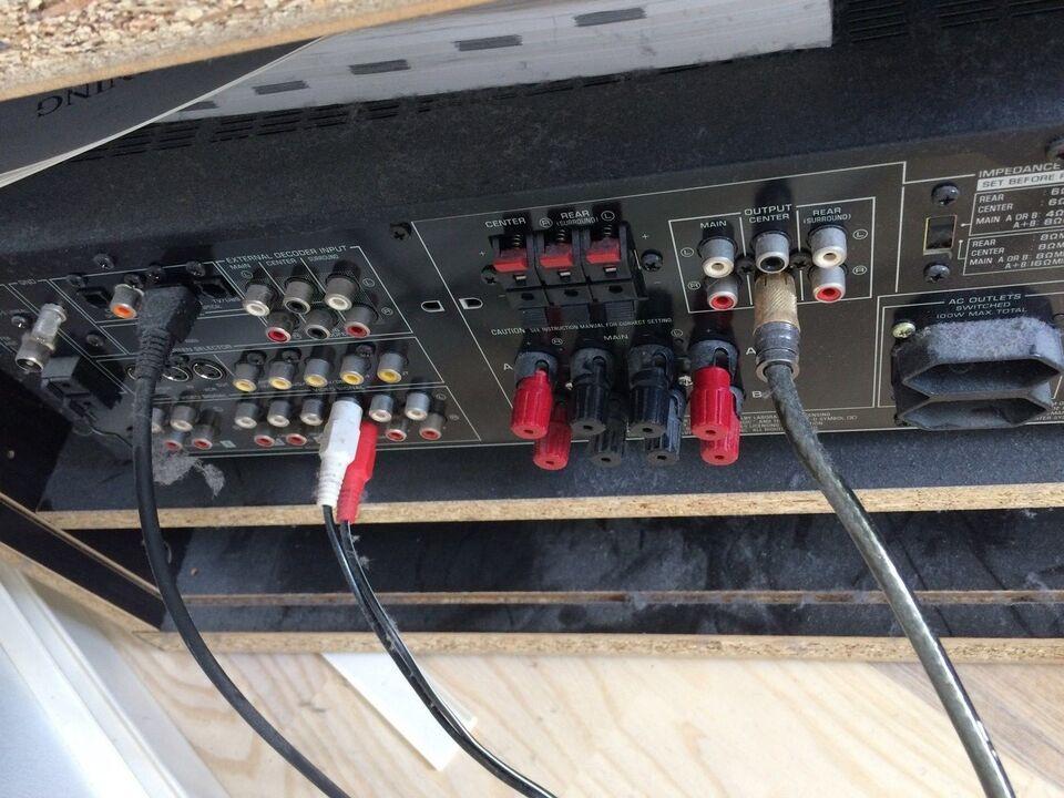 Yamaha, RX-V795RDS, 5.1 kanaler