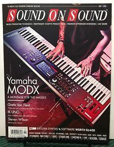 Details about Sound On Sound Yamaha MODX Greta Van Fleet January 2019 FREE  SHIPPING JB