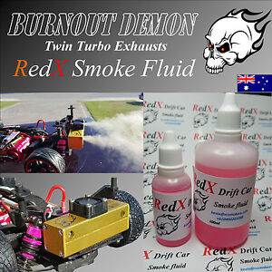RC-Drift-Car-Smoke-Generator-Burnout-Demon-RedX-Smoke-Fluid-30-100ml