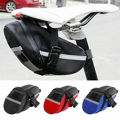 Details about  /Bike Saddle Bag Bicycle Under Seat Storage Outdoor Rear Tail Pouch Cycling Bag