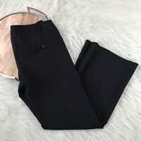 Primark Atmosphere Womens 10 Navy Blue Wide Leg Dress Pants