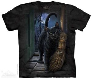New-The-Mountain-A-Brush-With-Magic-Black-Cat-T-Shirt
