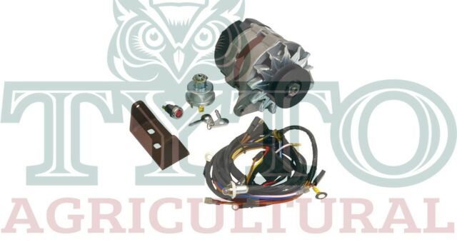 Massey Ferguson 35 35x Tractor Dynamo Alternator Conversion Kit Wiring Loom