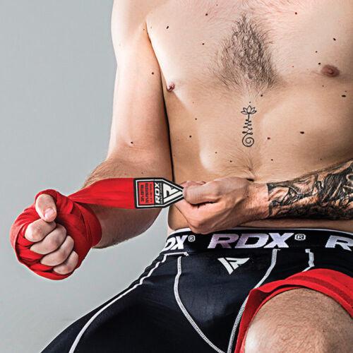 RDX Thermal Compression Flex Shorts /& Gel Groin Cup Guard MMA Muay Thai Kick