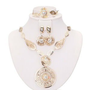 Sales Cheap Plated Costume Fashion Women Necklace Earring Ring Jewellery Set - Basildon, United Kingdom - Sales Cheap Plated Costume Fashion Women Necklace Earring Ring Jewellery Set - Basildon, United Kingdom
