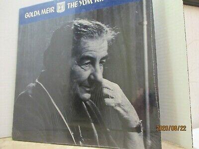 Golda Meir - The Yom Kippur War LP New Sealed Golda Meir ...