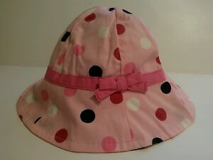 Girls' Clothing (newborn-5t) Lovely Lot Of Girls Hats 0 To 6 Months Gymboree And Place