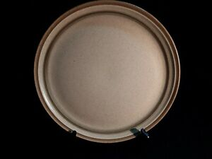 """MIKASA COUTURE HOME SPUN COUNTRY SIDE LRG ROUND 12 3/8"""" PLATTER/J7801 ☆Stoneware"""