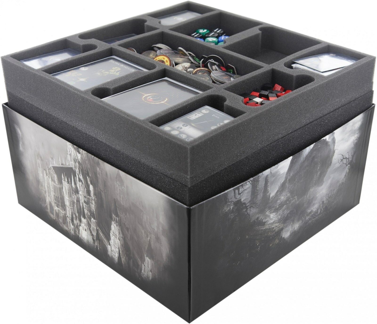 Feldherr Schaumstoff-Set für Dark Souls das Brettspiel Sortiereinsatz
