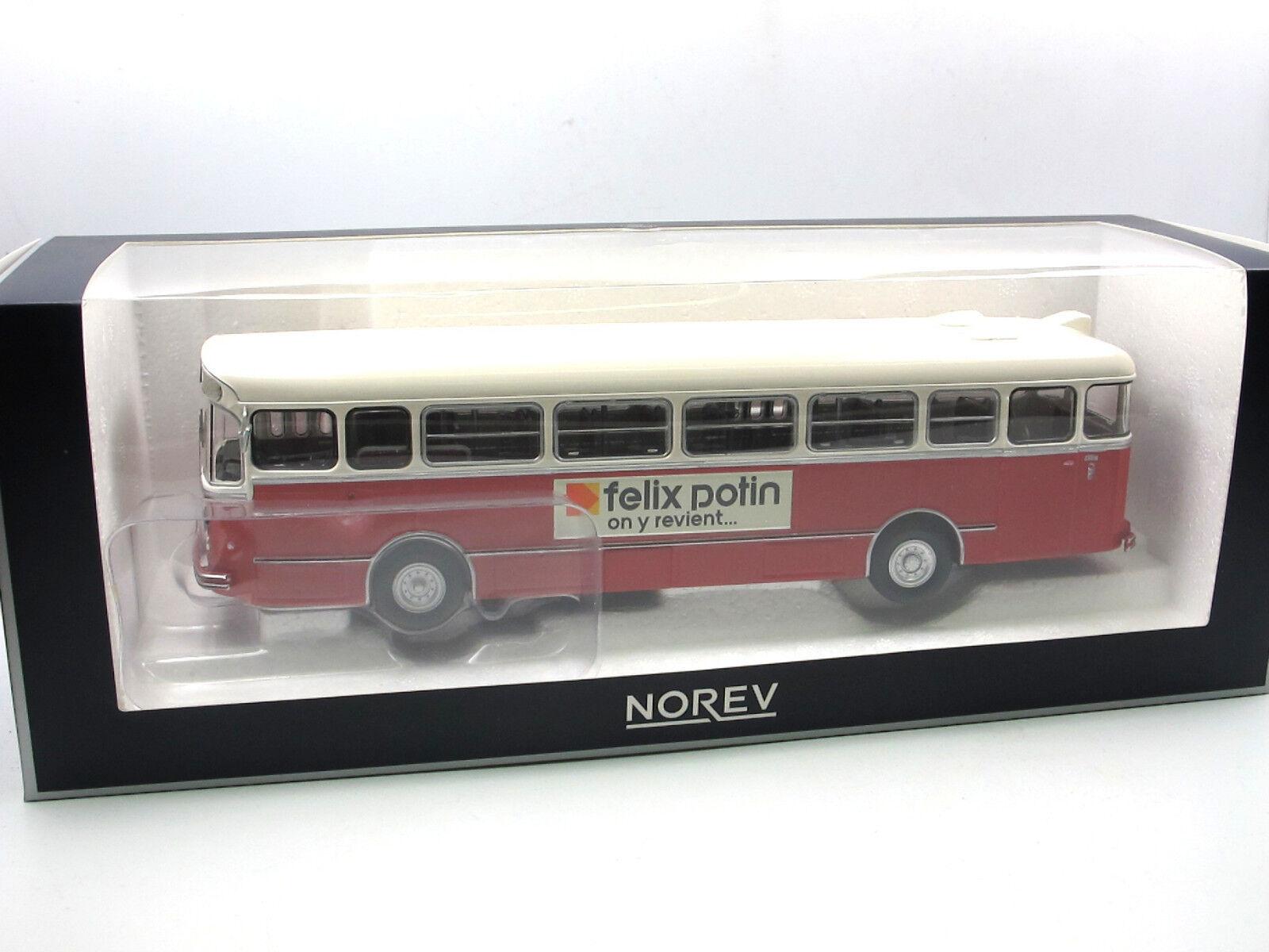 NOREV 533023 - 1955 chausson ap52-Bus-autobus-Autocar - 1 43 Nouveauté