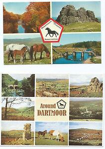 2-Colour-Postcards-of-Views-of-Dartmoor