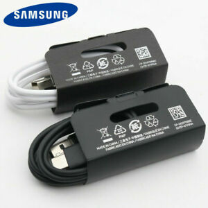 Original-Samsung-USB-Typ-C-Datenkabel-Schnellladegeraet-Fuer-Galaxy-S10-S10-S9-S8