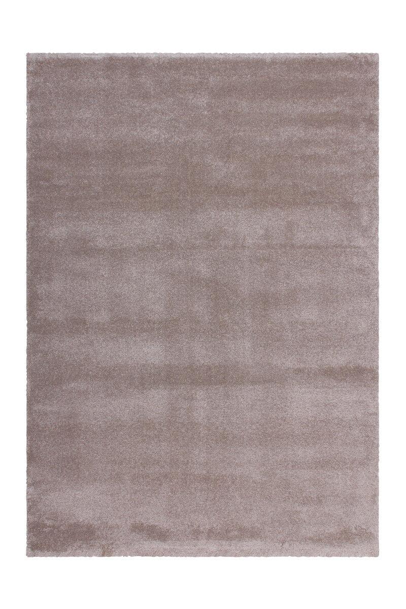 Alta flor Shaggy alfombra blanda uni uni uni confortable beige pálido marrón beige 160x230cm 982759