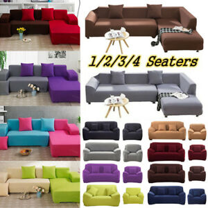 Outstanding Details About 1 4 Seaters Fashion Retro Recliner Sofa Covers Soft Couch Slipcovers Multicolor Gmtry Best Dining Table And Chair Ideas Images Gmtryco