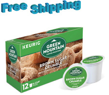Green Mountain Brown Sugar Crumble Donut Coffee Keurig K Cup Cups