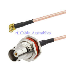 WiFi Pigtail Cable BNC Jack to MCX male RA for Broadband Router Ericsson W30 W35