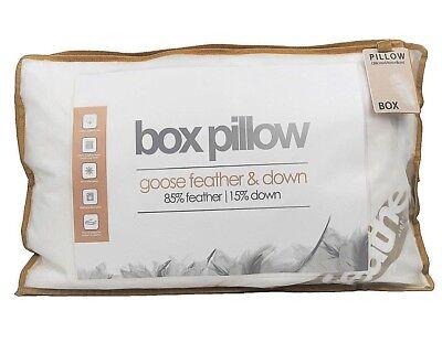 Goose Feather Down Box Walled Pillow Anti Allergy Machine