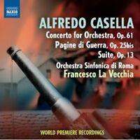 Francesco La Vecchia - Cto For Orch: Op 61 / Pagine De Guerra: Op 25bis [new Cd] on Sale