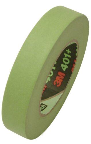 /_ 3M Scotch 401+ High Performance Masking Tape: 1 in x 60 yd Full Box 24 Rolls