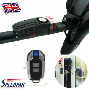 113dB-Security-Alarm-Remote-Wireless-AntiTheft-Vibration-Motorcycle-Bicycle