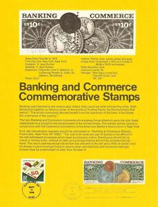 USPS-Souvenir-Page-7518-Banking-1577-78-w-Monopoly-Game-CTC-w-FDC
