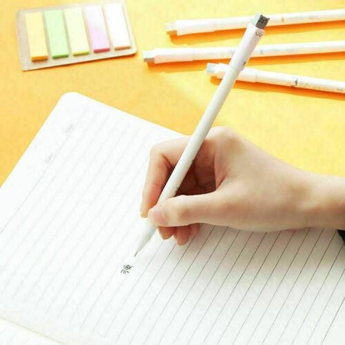 1Pc Cute Kawaii Fun Black Gel Ink Pens Roller Needle Pen Fine Cat Korean-Gi Z7W3