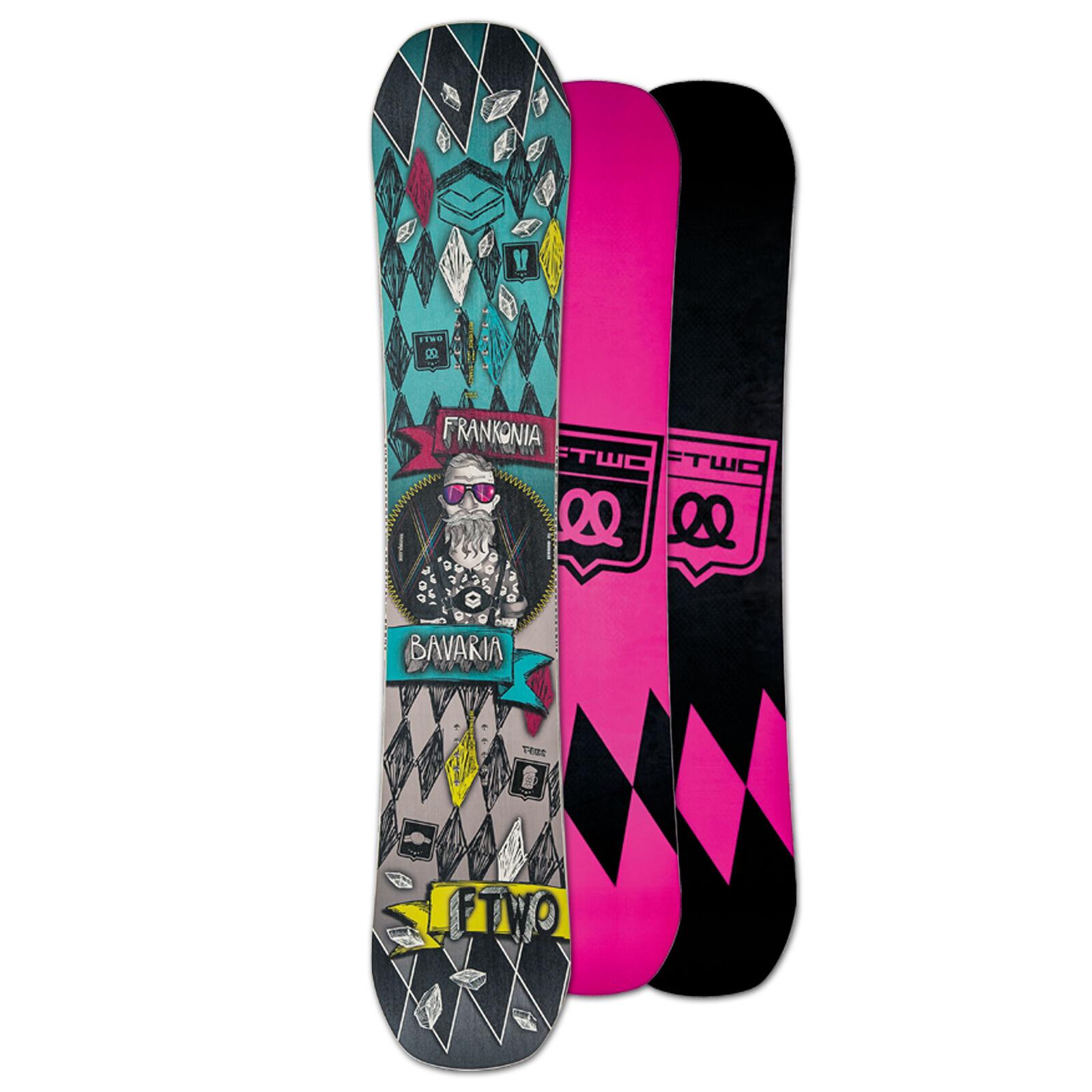 Ftwo Snowboard T-Ride un 152 cm Cambre