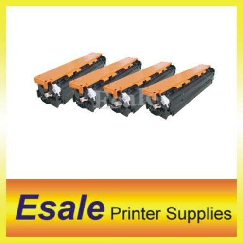 4 X Comp. HP CP1215 1518 CB540A CB541A CB542A CB543A