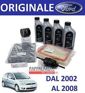 kit tagliando filtri originali olio 5w30 ford fiesta 5 v. Black Bedroom Furniture Sets. Home Design Ideas