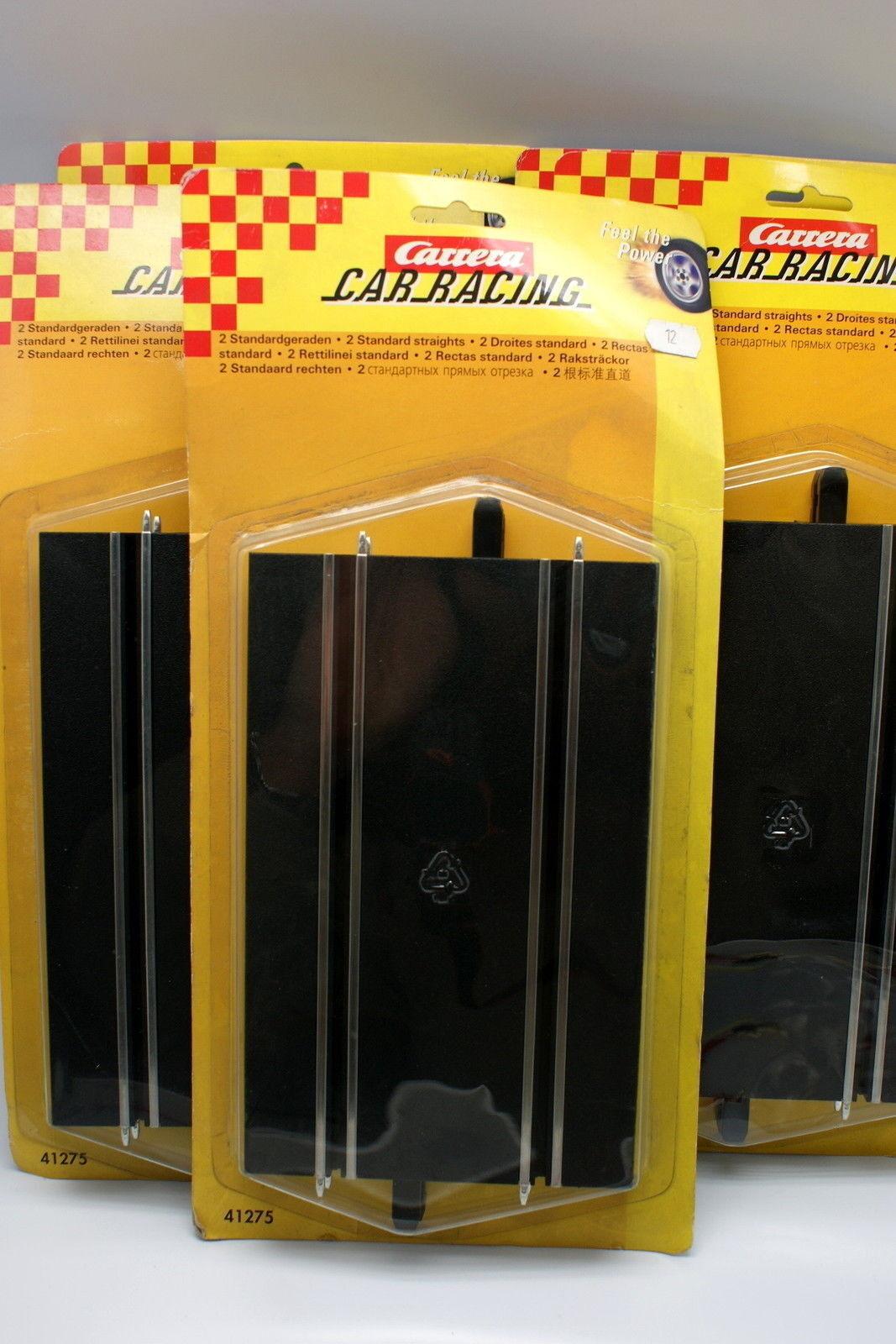 Carrera 1 32 - Lot de 5 Rails droit sous Blister Car Racing