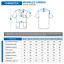 miniatura 2 - Divisa Ospedaliera in cotone 100% scollo a V per medico infermiere oss estetista