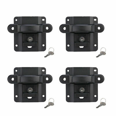 15-18 Ford F150 Box Tie Down Truck Bed Cleats Locking Set of 4 w// Reinforcements