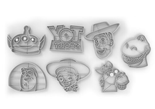 Toy story full SET Seller Plastic Biscuit Cookie Cutter Fondant Cake Decorating