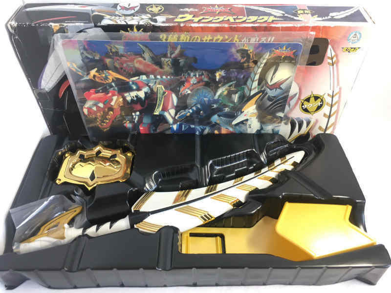 Power rangers sentai dino donner abaranger dx - flügel pentact w   box japan 5152