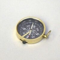 1.75 Brass Compass - Pocket Compass - Scout- Hiking - Camping