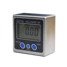 Digital Inclinometer Mini Box Angle Gauge protractor Level 360° Magnetic Base