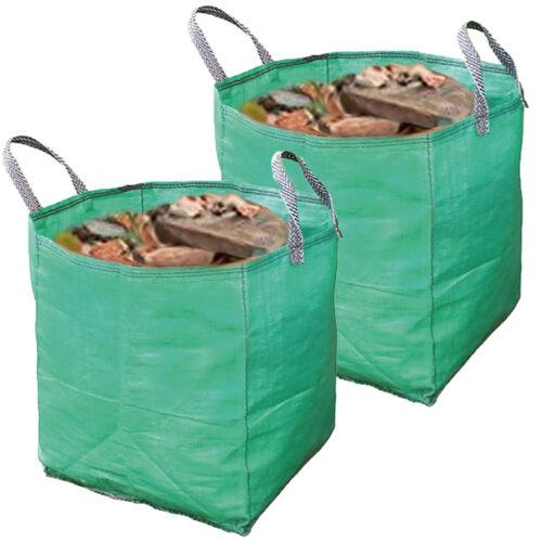 Builders Woven Reusable Work Bin Waste Bag Heavy Duty Rubble Sack 120L Litre x 2