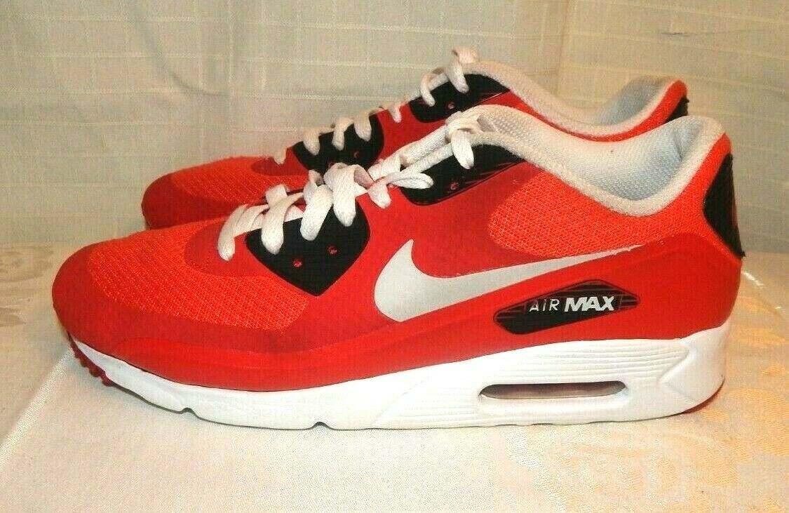 Nike Air Max Sneakers-Red, Black, White,Grey-Men Sz 8.5